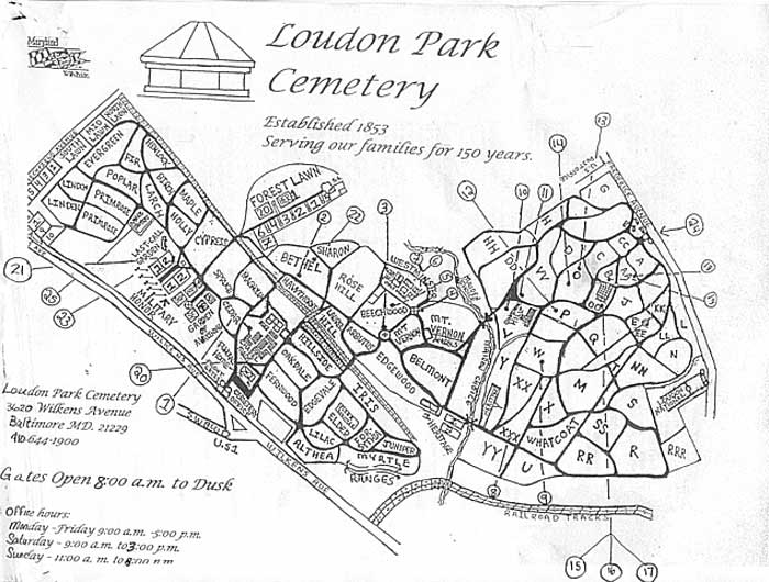 Documents - Loudon Park Cemetery